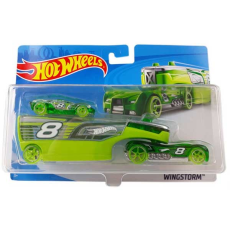 تریلی و ماشین HOT WHEELS مدل BDW51 - HOT WHEELS MID PRICED RIG ASST
