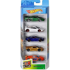 پک 5 تایی ماشین‌های HOT WHEELS مدل EXOTICS - Hot Wheels 5 pack Exotics