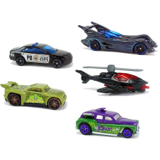 پک 5 تایی ماشین‌های HOT WHEELS مدل BATMAN - Hot Wheels 5 pack Batman